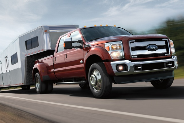 2016 Ford F-350 Super Duty, Front quarter view. 2016 F-Series Super Duty, exterior, manufacturer