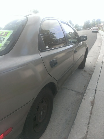 Picture of 1997 Mazda Protege 4 Dr DX Sedan