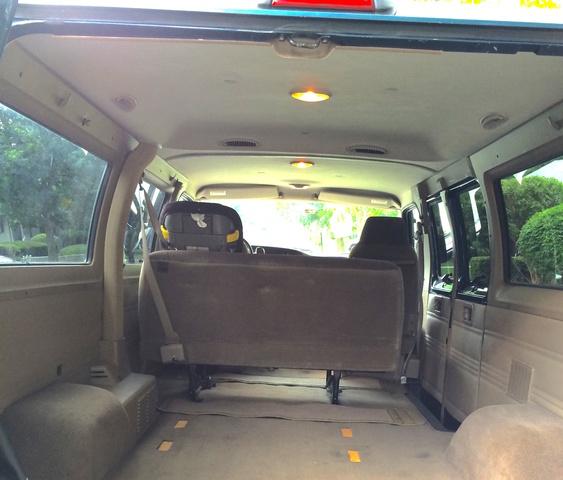 2003 Dodge Ram Van 3500 Interior: 2002 Dodge Ram Wagon