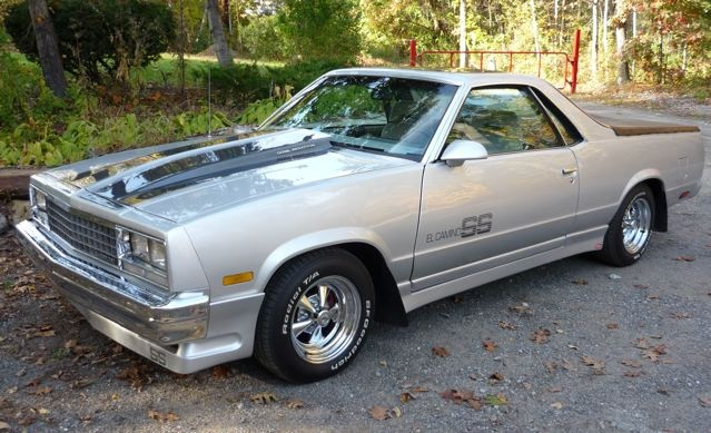 Chevrolet El Camino Questions  Where do the fuel injected emblems