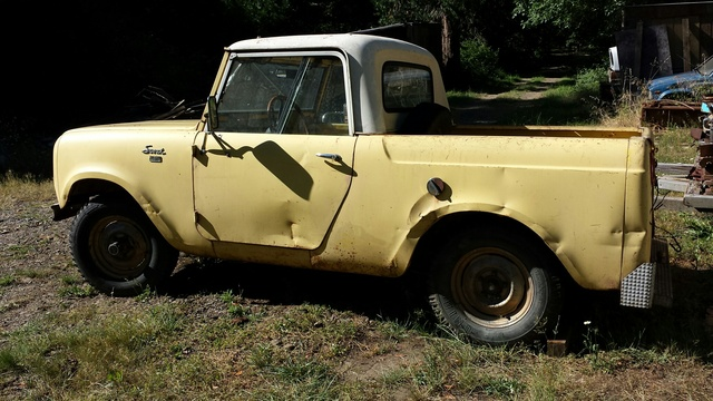 Picture of 1962 International Harvester Scout