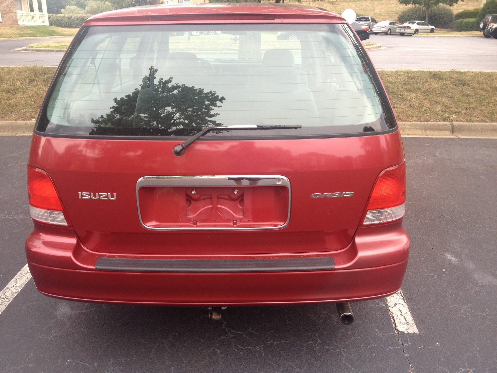 Nissan Passenger Van >> Isuzu Oasis - Overview - CarGurus