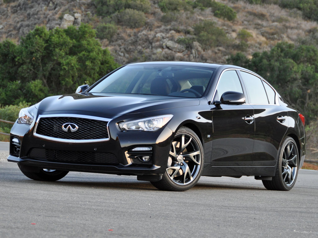 2015 Infiniti Q50 Black Wheels