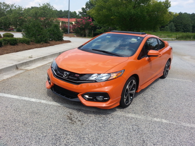 Picture of 2015 Honda Civic Coupe SI w/ Summer Tires, exterior, gallery_worthy