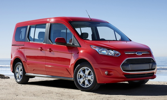 2015 Ford Transit Connect, Front-quarter view, exterior, manufacturer