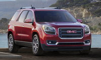 2016 GMC Acadia, Front-quarter view. Copyright General Motors, exterior, manufacturer