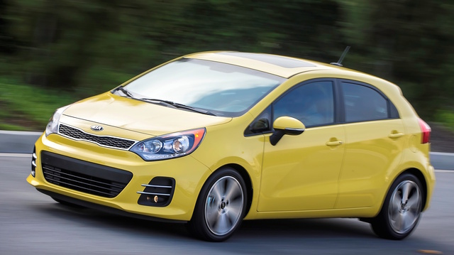 2016 Kia Rio5, Front-quarter view, exterior, manufacturer, gallery_worthy