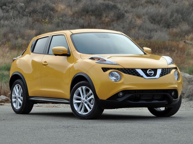 2015 Nissan Juke SL Solar Yellow, exterior, gallery_worthy