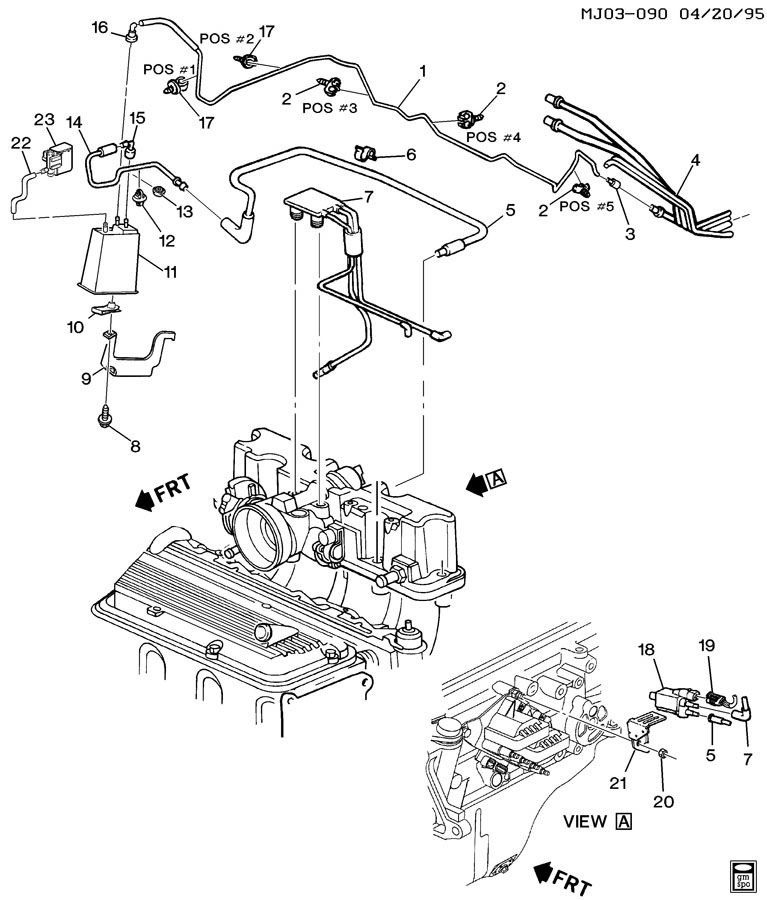 Chevrolet Cavalier Questions - I had found a part dangling ...