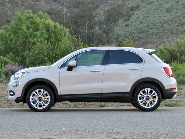 2016 fiat 500x lounge exterior for Fiat 500x exterior