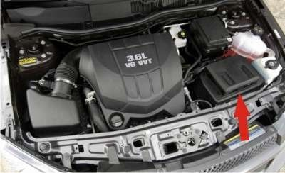 Chevrolet Equinox Questions - Were is the battery on a ...