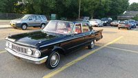1961 Mercury Comet, 1961 4 door Black Comet, exterior