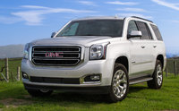 2016 GMC Yukon, Front-quarter view. Copyright General Motors, exterior, manufacturer