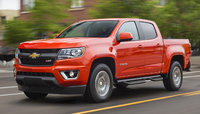 2016 Chevrolet Colorado, Front-quarter view. Copyright General Motors, exterior, manufacturer