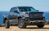2016 GMC Canyon, Front-quarter view. Copyright General Motors, exterior, manufacturer