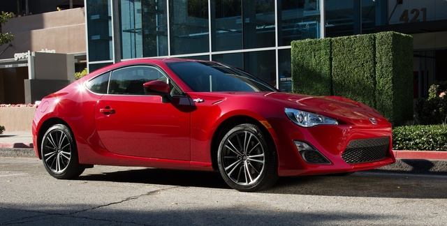 2016 Scion FR-S, Front-quarter view, exterior, manufacturer, gallery_worthy