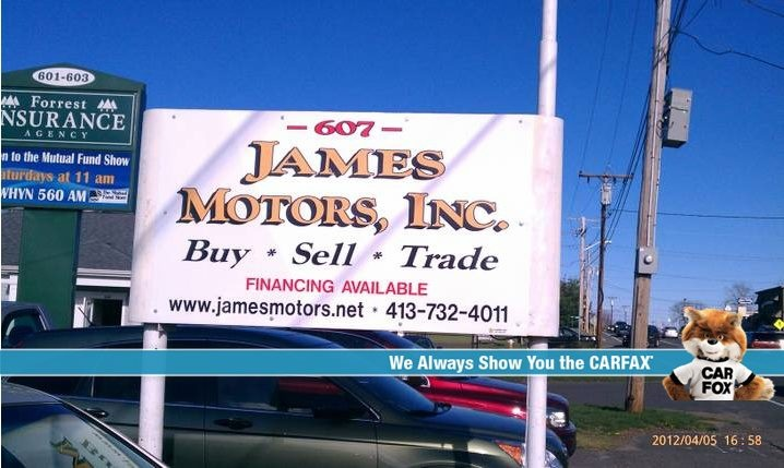 James Motors East Longmeadow Ma Read Consumer Reviews