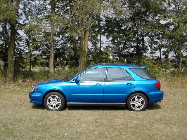 For Sale 2003 Black Subaru Impreza WRX Wagon |2003 Impreza Wrx Wagon Stanced