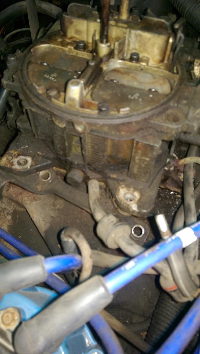 Chevrolet Chevy Van Questions - Have a Carbutator Question