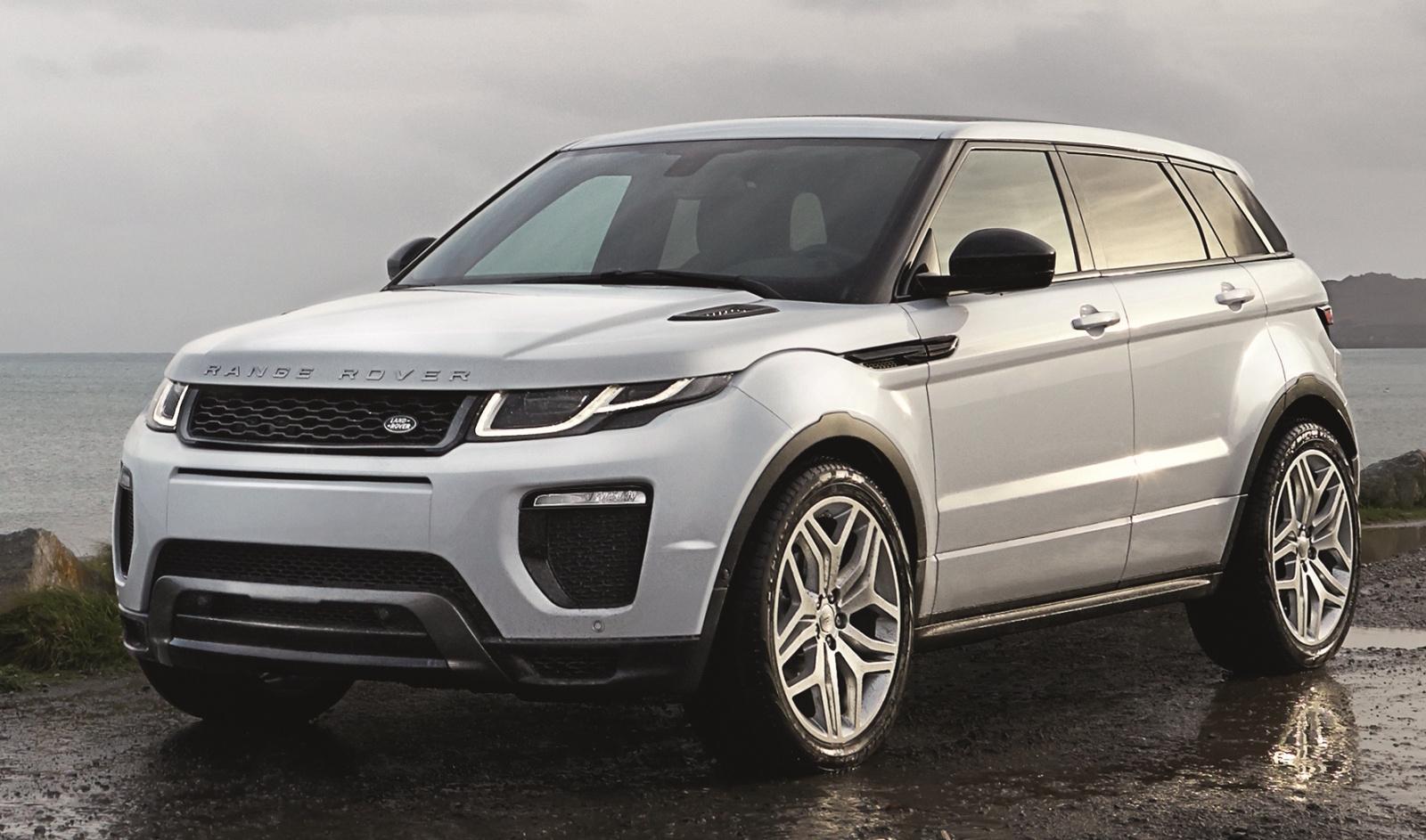 2017 Range Rover Configurations >> 2016 Land Rover Range Rover Evoque Overview Cargurus
