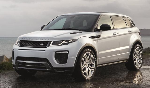 2016 Land Rover Range Rover Evoque, Front-quarter view, exterior, manufacturer