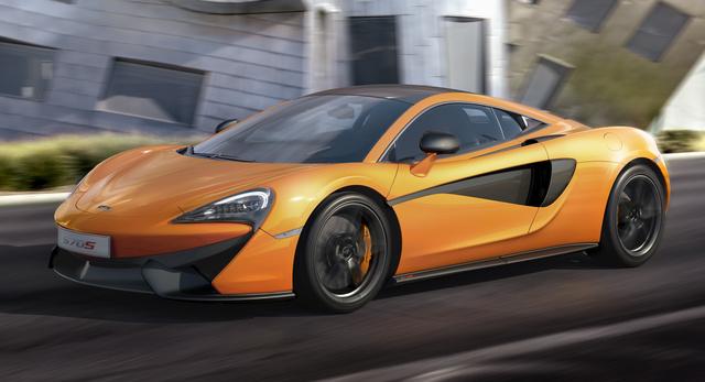 2016 McLaren 570S, Front-quarter view, exterior, manufacturer, gallery_worthy
