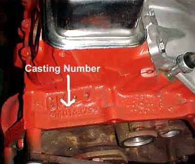 Chevrolet Impala Questions - Where do I find the Engine casting VIN