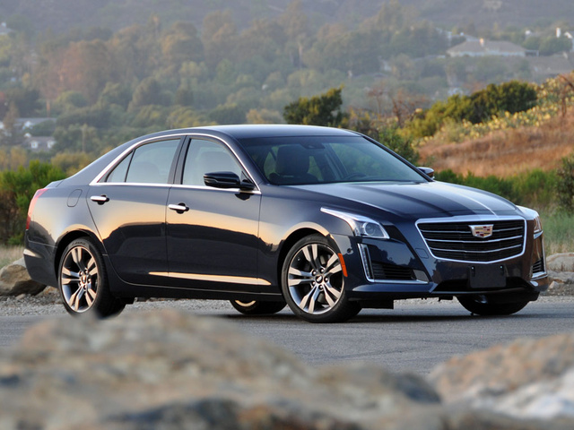 2015 Cadillac CTS Vsport Dark Adriatic Blue Metallic