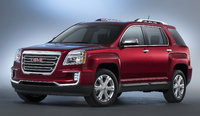 2016 GMC Terrain, Front-quarter view. Copyright General Motors, exterior, manufacturer
