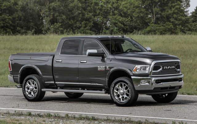 2016 Ram 2500, Front quarter view, exterior, manufacturer, gallery_worthy