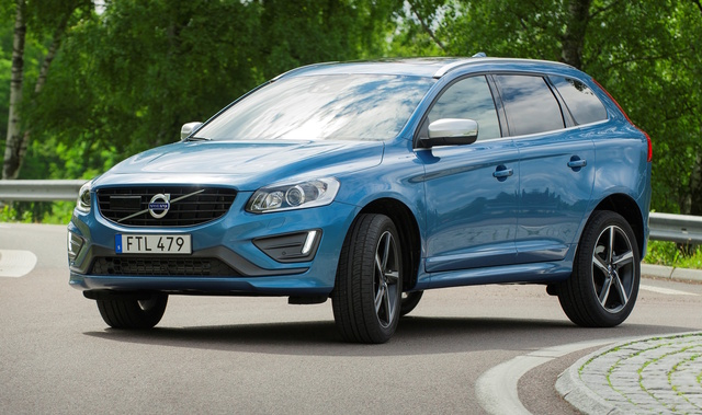 2016 Volvo XC60, Front quarter view, exterior, manufacturer