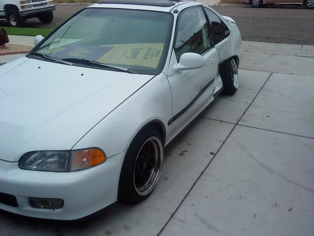 Picture of 1995 honda civic si hatchback exterior - Picture Of 1995 Honda Civic Coupe Exterior