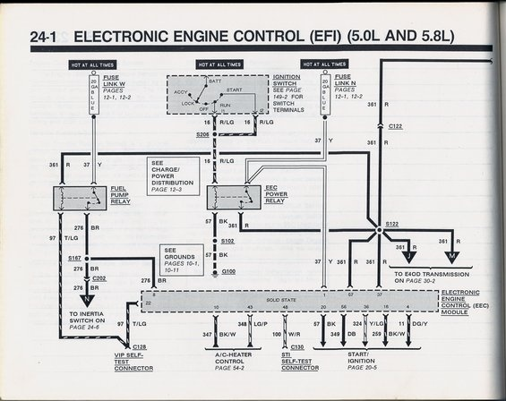 1990 Mustang Wiring Short - Schematics Online on