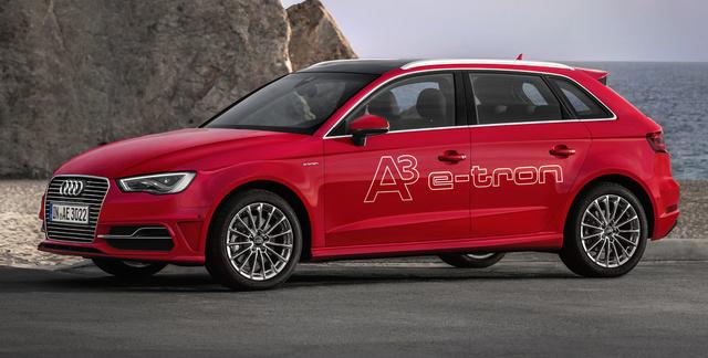 2016 Audi A3 Sportback, Front-quarter view, exterior, manufacturer