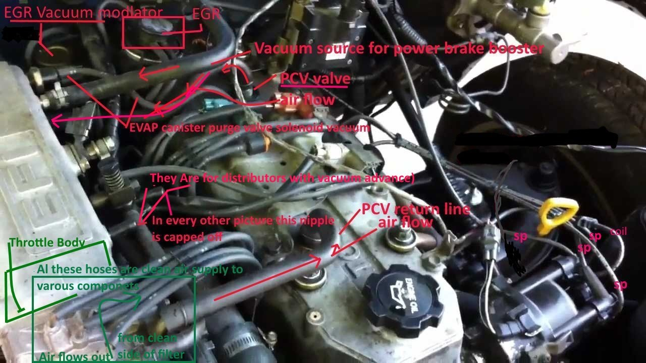 Toyota Pickup Questions - 93 Toyota Pick Up 4 Cyl 22re No Vacuum Signal To Egr Valve
