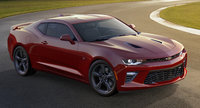 2016 Chevrolet Camaro, Front-quarter view. Copyright General Motors, exterior, manufacturer