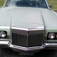 1971 Lincoln Continental Picture Gallery