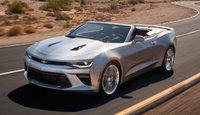 2016 Chevrolet Camaro, Front-quarter view. © General Motors., exterior, manufacturer