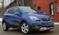 2016 Buick Encore, Front quarter view. Copyright General Motors., exterior, manufacturer, gallery_worthy