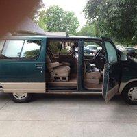 Picture of 1992 Ford Aerostar 3 Dr Eddie Bauer Passenger Van Extended, interior