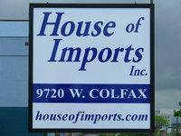 House of Imports, Inc. logo