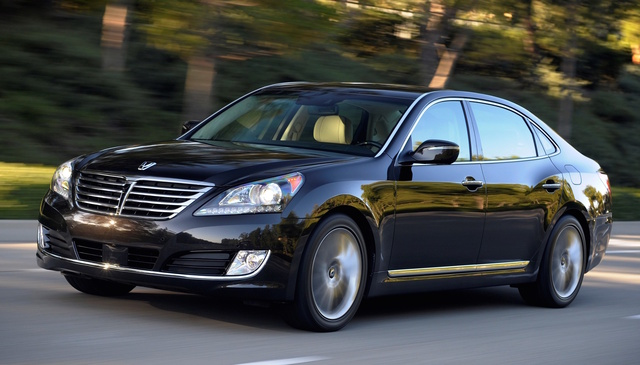 2016 Hyundai Equus, Front-quarter view, exterior, manufacturer, gallery_worthy