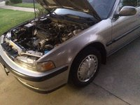 Picture of 1990 Honda Accord EX, exterior, engine