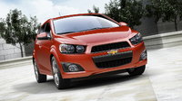 2016 Chevrolet Sonic, Front-quarter view. Copyright General Motors, exterior, manufacturer