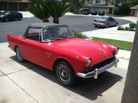 1963 Sunbeam Alpine Overview
