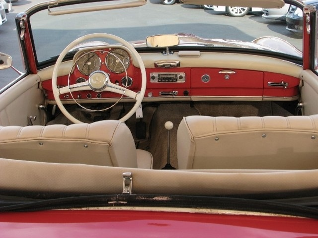 Picture of 1957 Mercedes-Benz SL-Class 190SL, interior, gallery_worthy