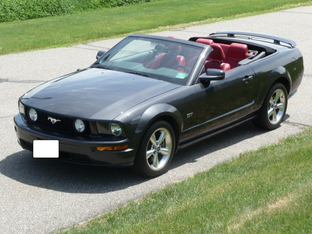 picture of 2007 ford mustang gt premium convertible exterior. Black Bedroom Furniture Sets. Home Design Ideas