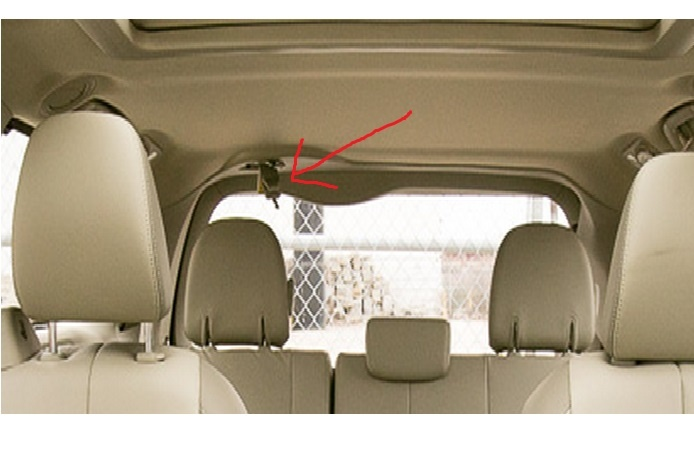 Toyota Sienna Questions - How to keep the middle rear ...