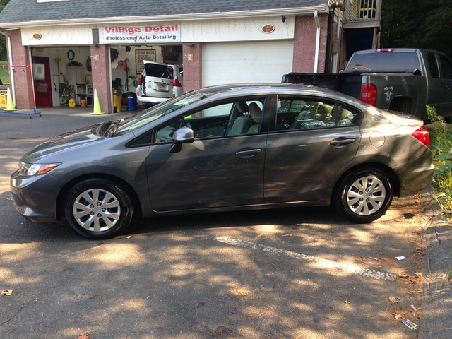 2012 Honda Civic LX, Just detailed at Village Detail in Acton, MA. Looks like it just left the showroom floor!, exterior, gallery_worthy