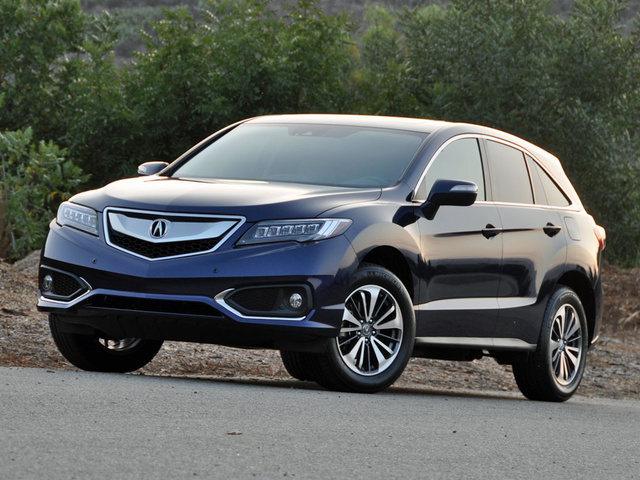 2016 Acura RDX AWD with Advance Package, 2016 Acura RDX Advance Fathom Blue Pearl, exterior, gallery_worthy